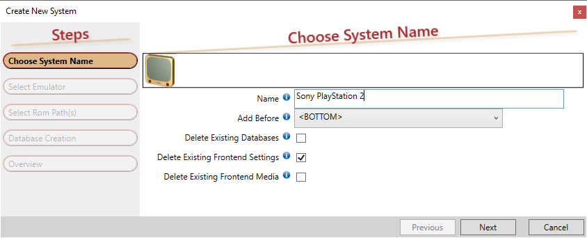 PS2 add system