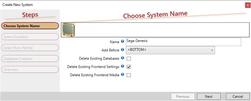 HS Genesis add sys