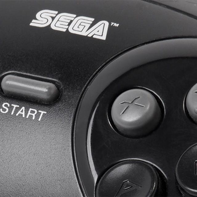 Sega section logo