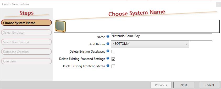 Game Boy add system