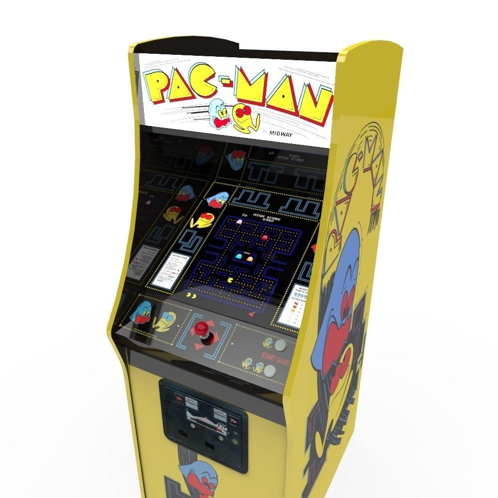 Pacman cabinet bezel
