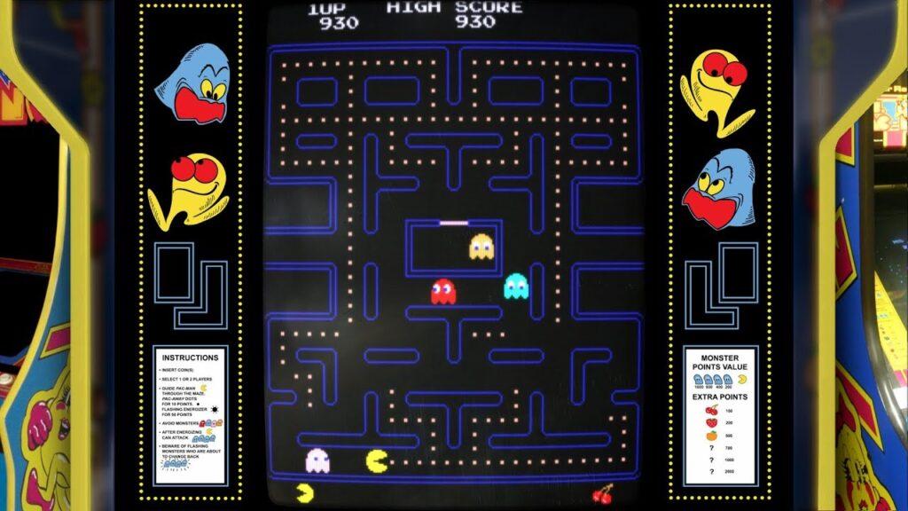 Pacman digital bezel