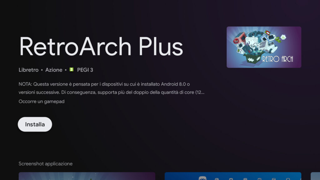 Retroarch plus Android installation